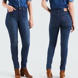 Levi's 721 High Rise Skinny Dark Wash Women's 29